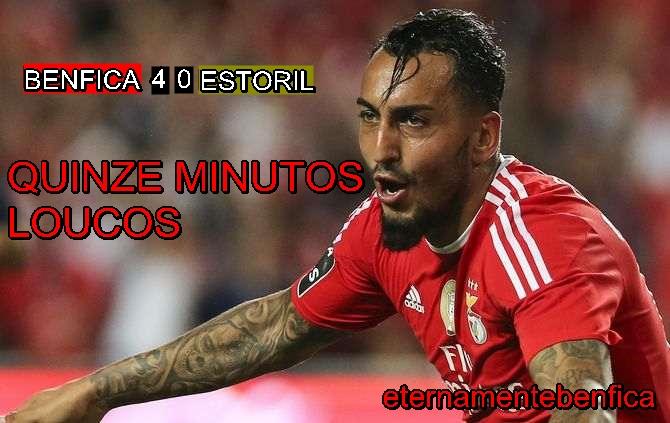 Benfica Nacional Resumo: ESTORIL, 4-0 : CRÓNICA