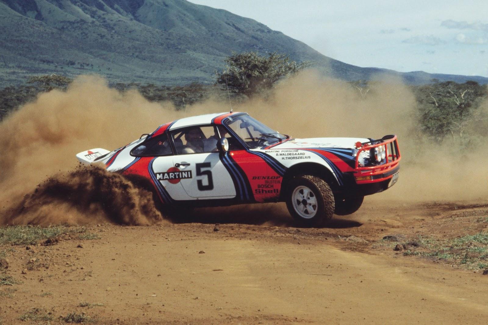 Clasp Garage Porsche 911 Sc Rally Safari