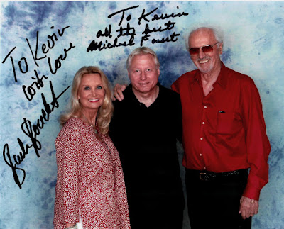 Barbara Bouchet, Me, & Michael Forest at Shore Leave 38