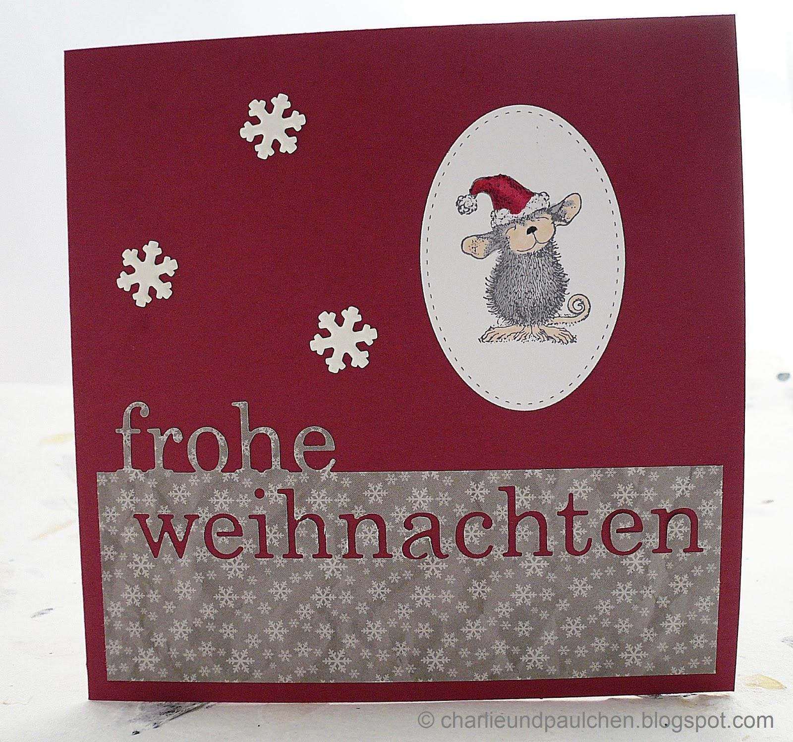charlieundpaulchen weihnachtsm use. Black Bedroom Furniture Sets. Home Design Ideas