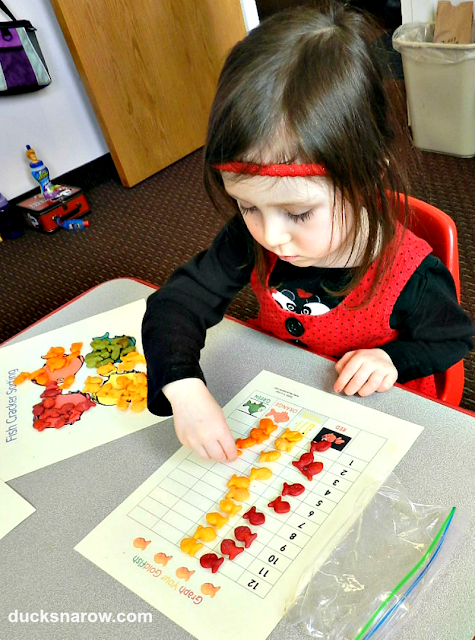 preschool math, sorting activities, learning to use a graph, counting