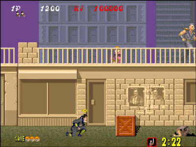Videojuego Shinobi - Arcade