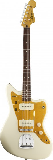 Đàn Guitar Điện Squier J Mascis Jazzmaster, Vintage White