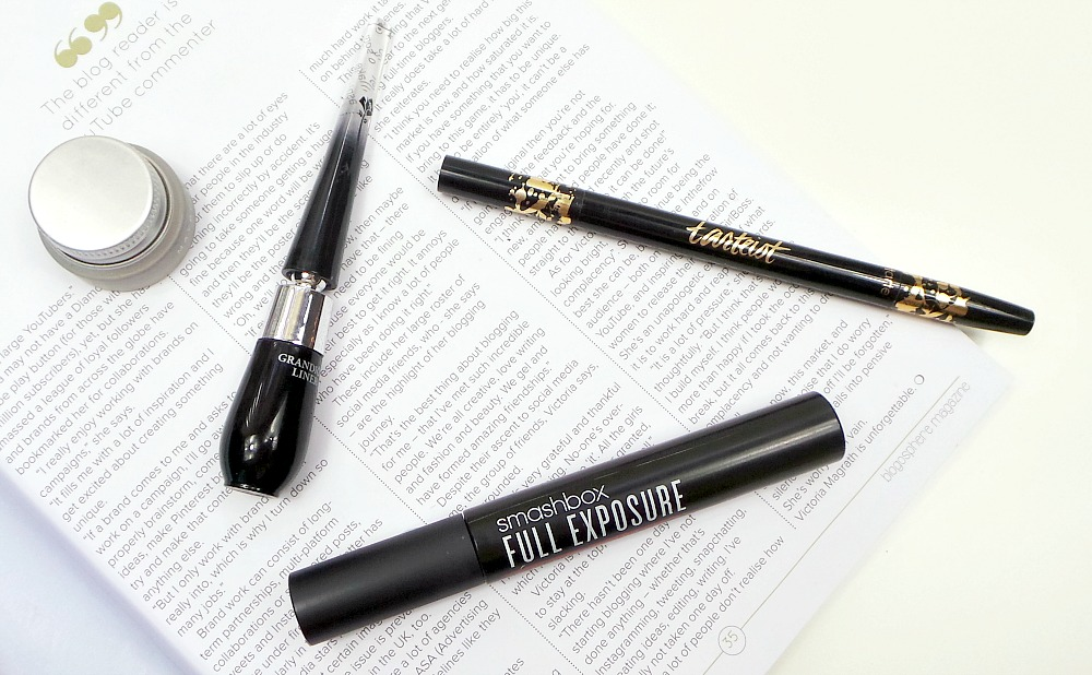favourite eyeliner and mascara