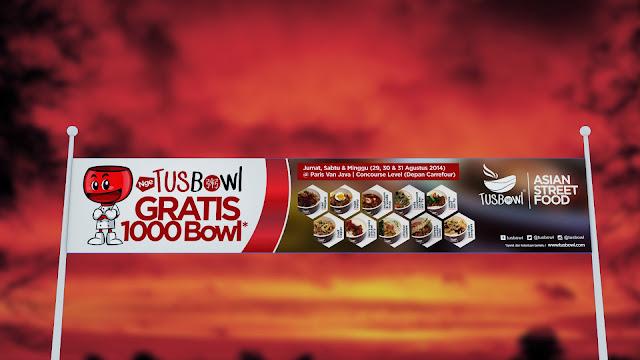 Tusbowl Banner Design