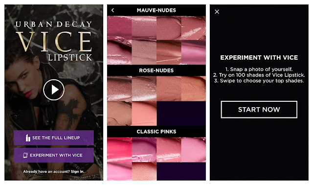 Urban Decay Vice Lipsticks App