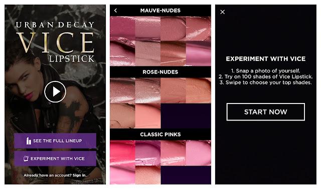 Urban Decay Vice Lipsticks App