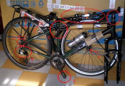 Empaquetar bicicleta