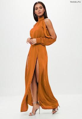 Vestidos Manga Larga Elegantes