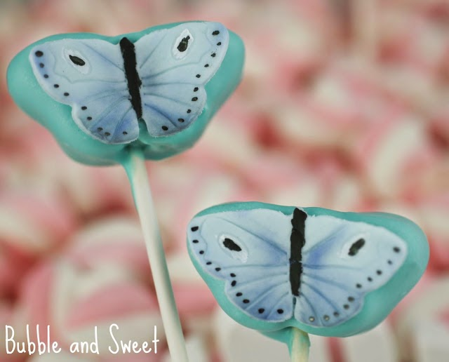 Butterfly Kisses Cake Pops by Bubble and Sweet