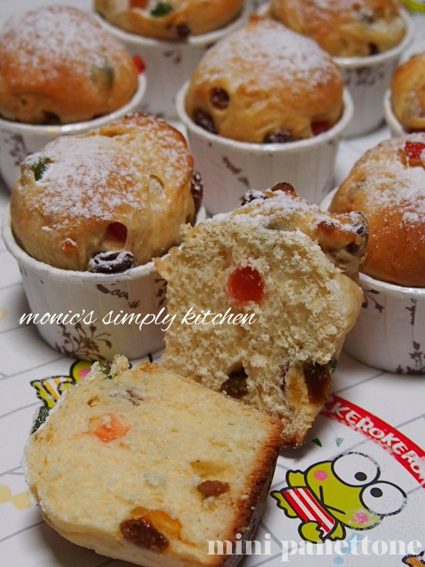 resep membuat mini panettone