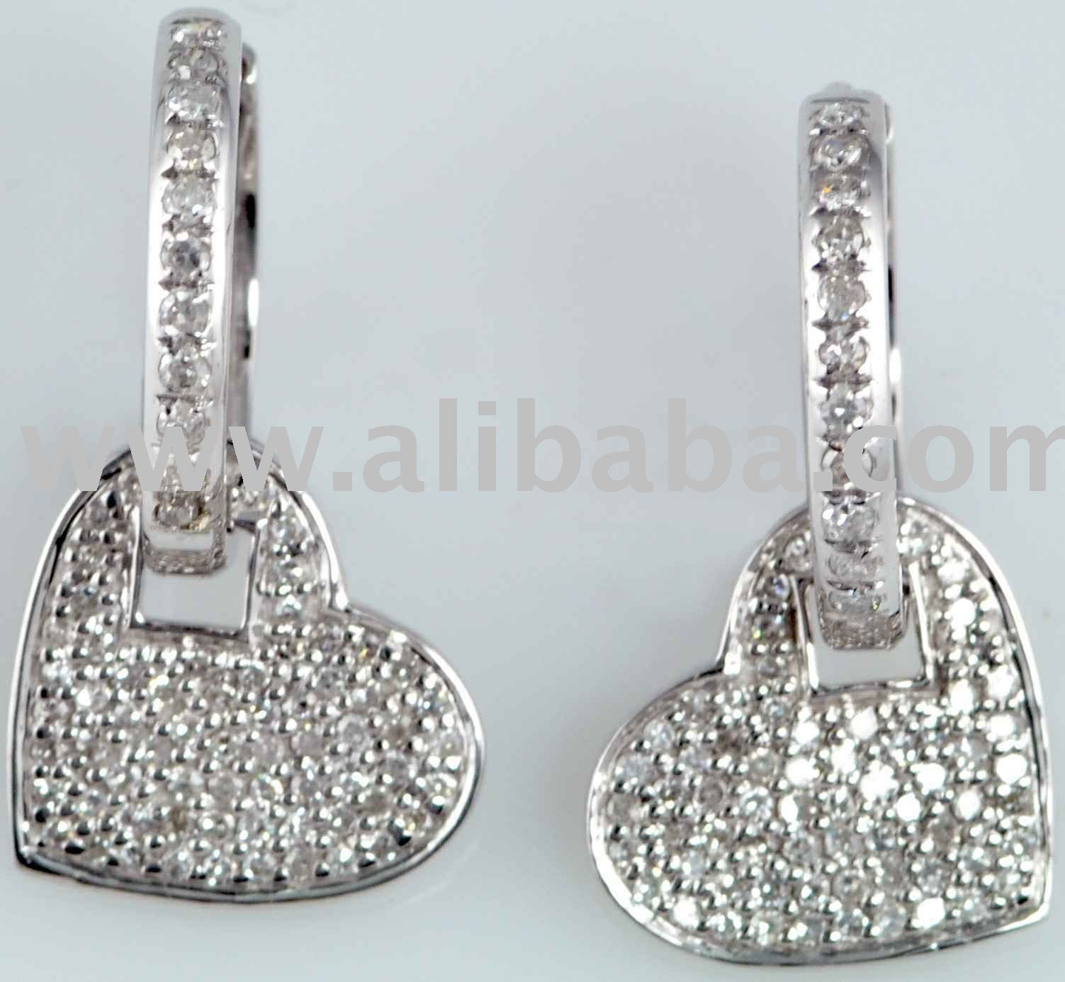 SHE FASHION CLUB: Real Diamond Earrings
