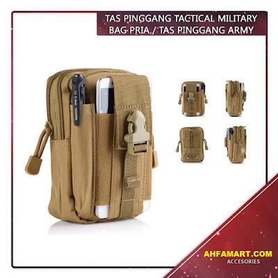 tas pinggang military