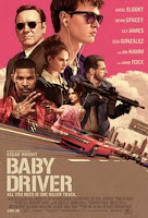 Baby Driver (2017) Poster