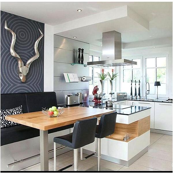 Inspirasi Desain Dapur Dan Ruang Makan Sempit Modern Info Paguntaka