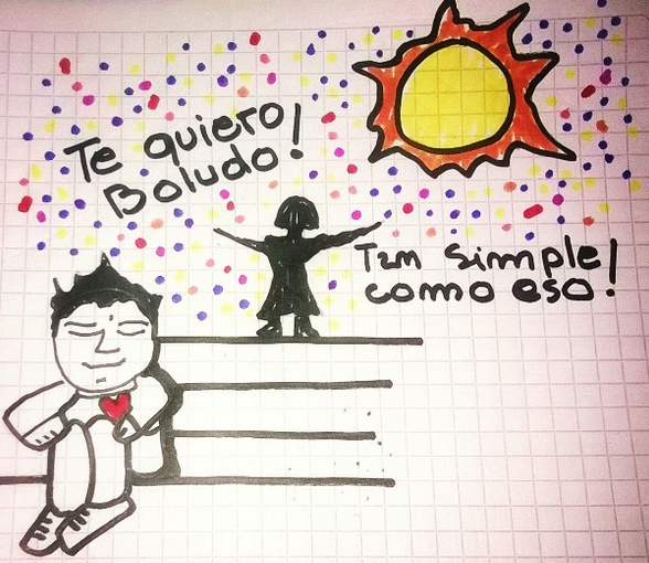Te quiero boludo! by elNegro