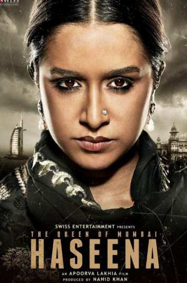 Haseena Movie First Look Poster