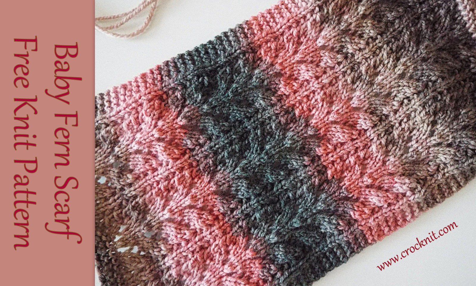 MICROCKNIT CREATIONS: Knit me a Vintage Lace Scarf