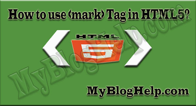 html5 mark tag to highlight text