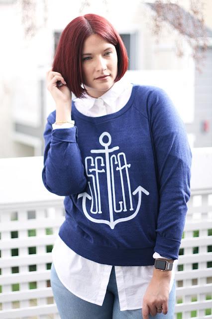 Printed sweater, pullover, san francisco, fashion, culk