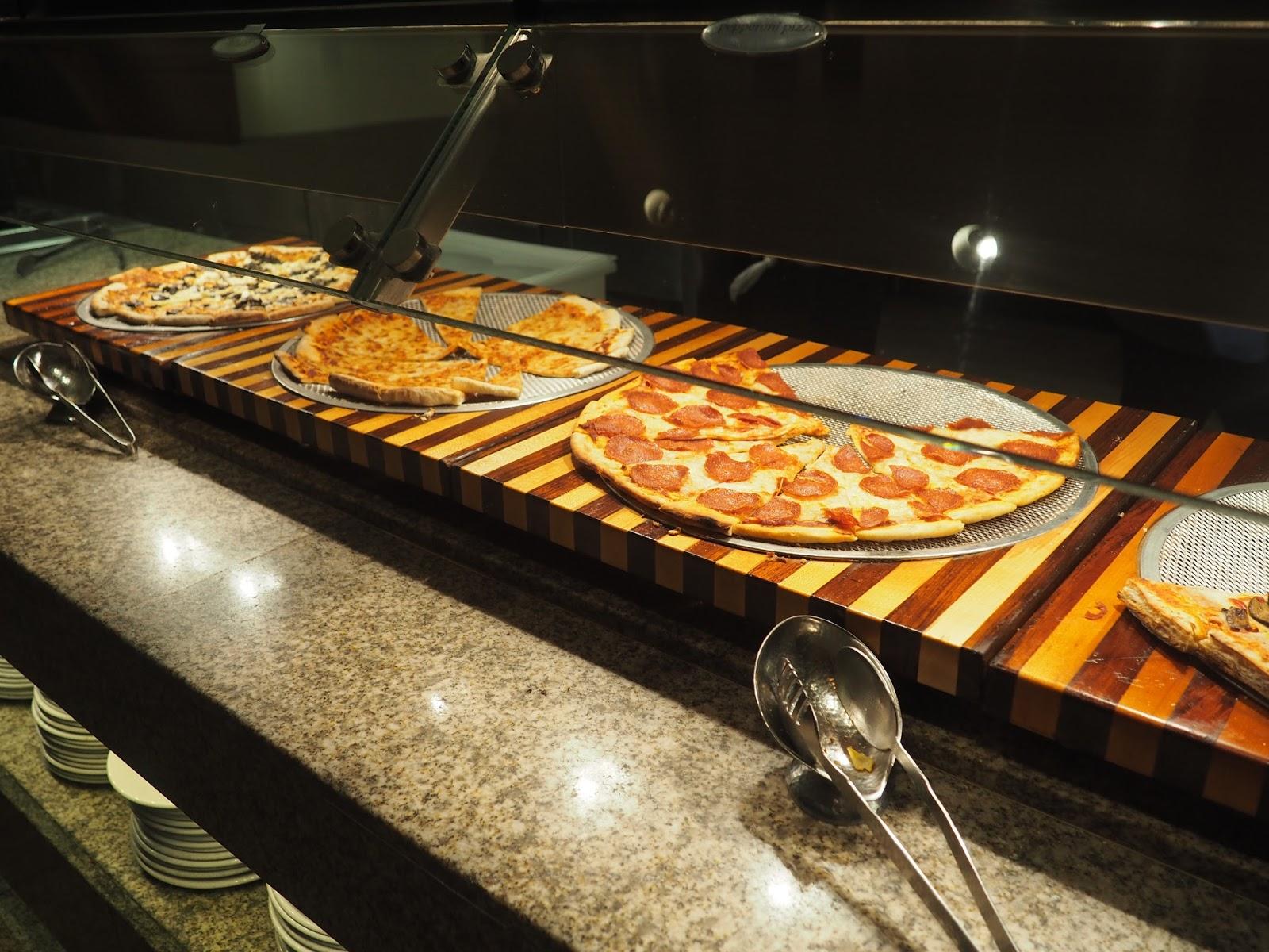Pizza at Baachanal Buffet at Caesar's Palace, Las Vegas