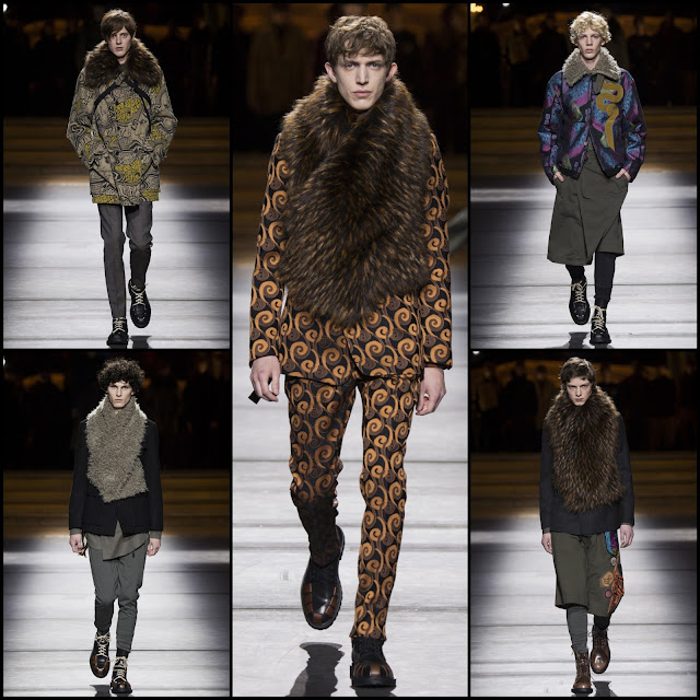 RUNWAY REPORT.....Paris Menswear Fashion Week Fall 2016: Dries Van Noten Men's Fall/Winter 2016/2017