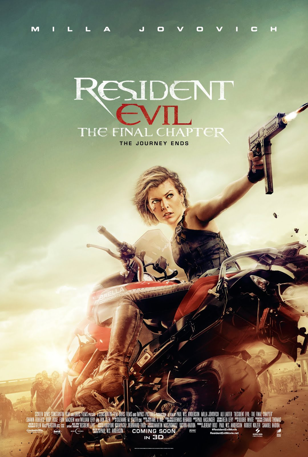 Resident Evil The Final Chapter 720p HD Download | STOCK
