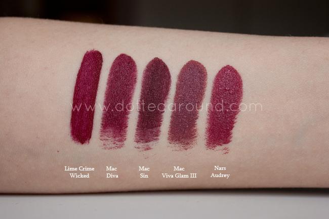 Dotted Around: My favorite winter lipsticks | swatches