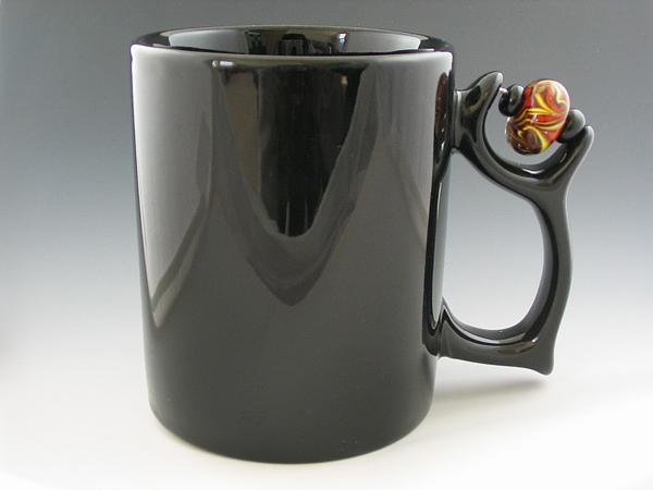 Diseño de mugs para regalo con forma única