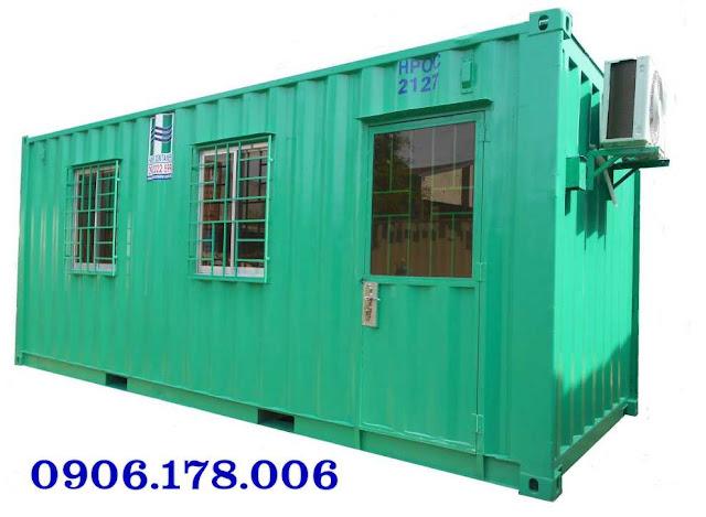 Bán container làm văn phòng 20 feet
