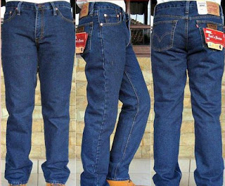 grosir celana jeans, celana jeans, celana jeans pria, celana jeans biru klasik
