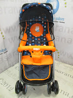 Junior KC002 Shiny Baby Stroller
