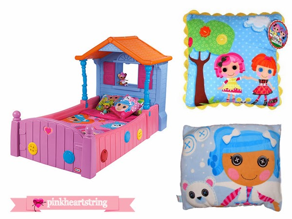 Pink Heart String: Lalaloopsy Bedroom Furniture And