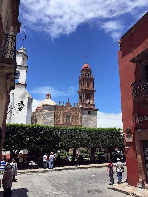 Templo de San Francisco en San Miguel de Allende Guanajuato