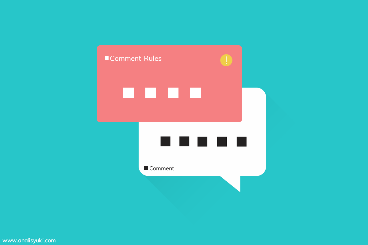 Cara Membuat Pesan Pemberitahuan Diatas Komentar Blogger