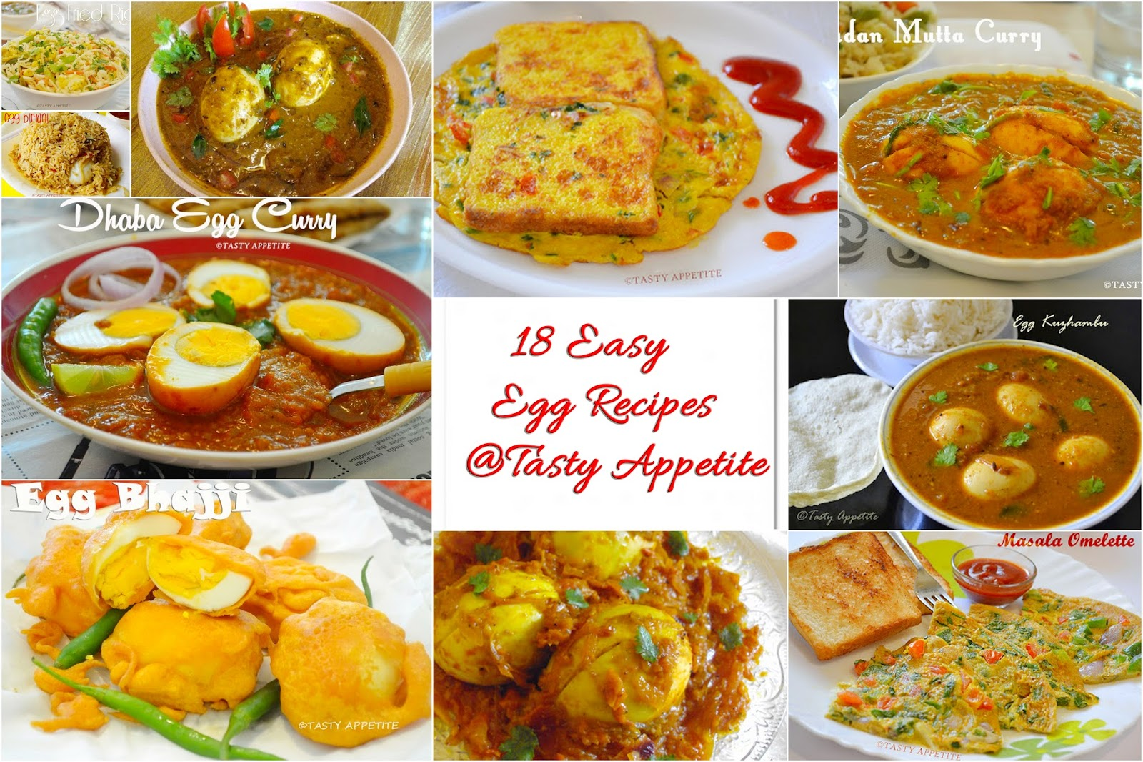 18 Easy Egg Recipes / Step by Step Recipes