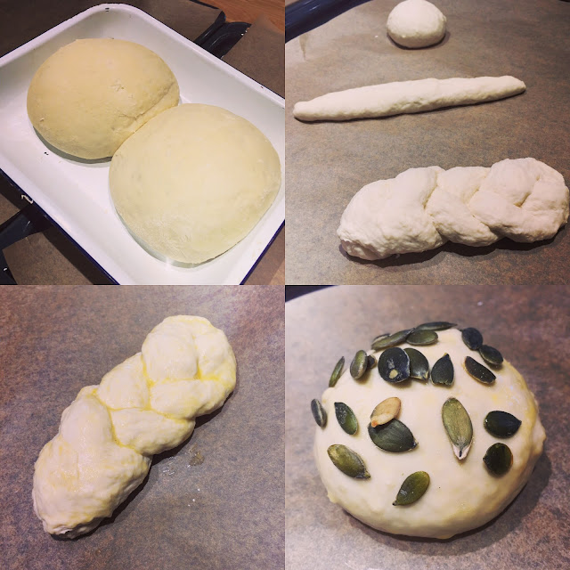 simple white rolls ready for baking