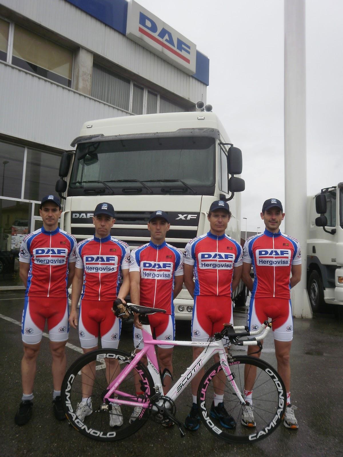 Ben2010 Cycling Team 2012 # Muebles Hoznayo Horario