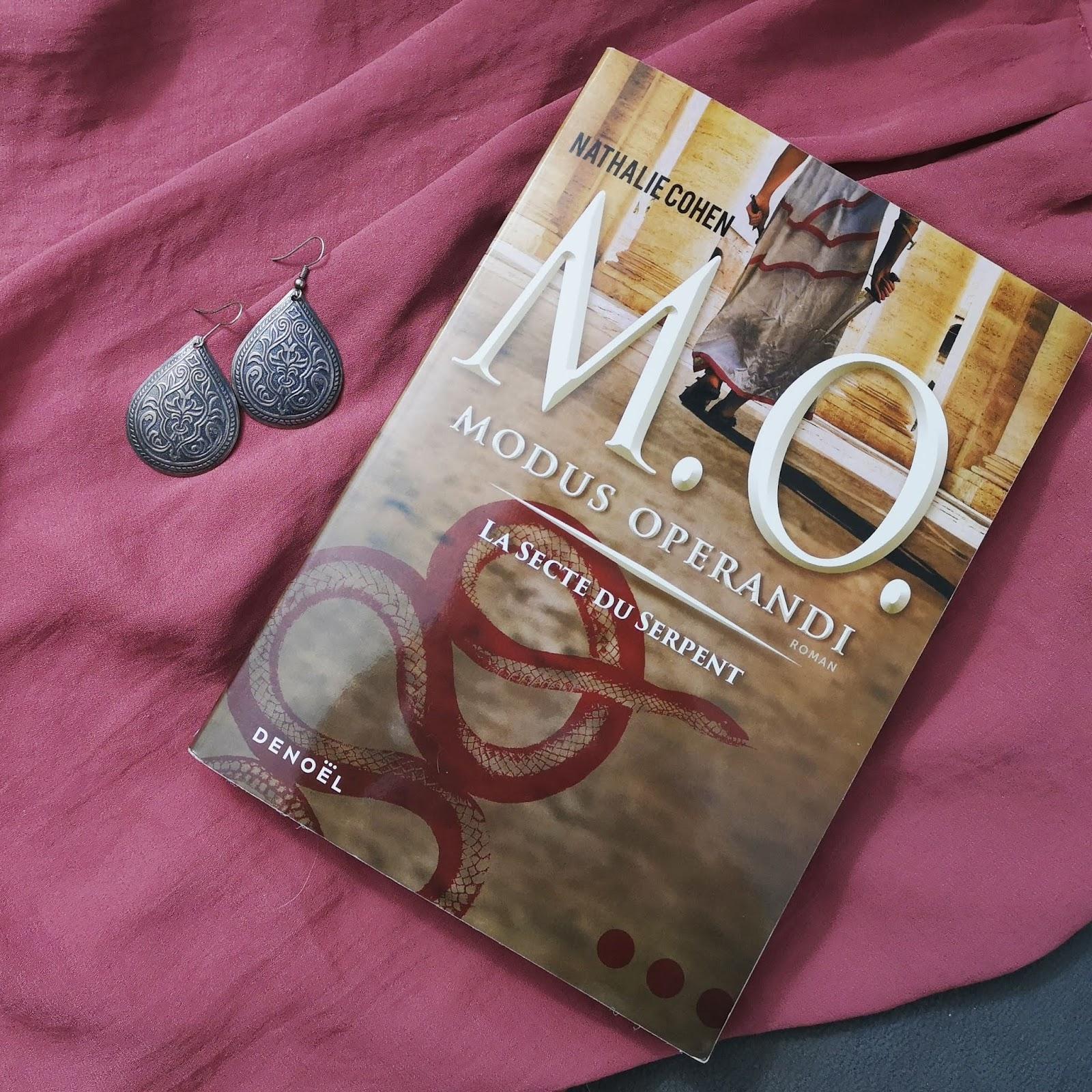 Modus Operandi, tome 1 : La secte du serpent de Nathalie Cohen