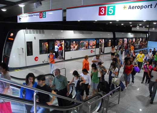 Metrovalencia desplazó en agosto 3,7 millones de viajeros
