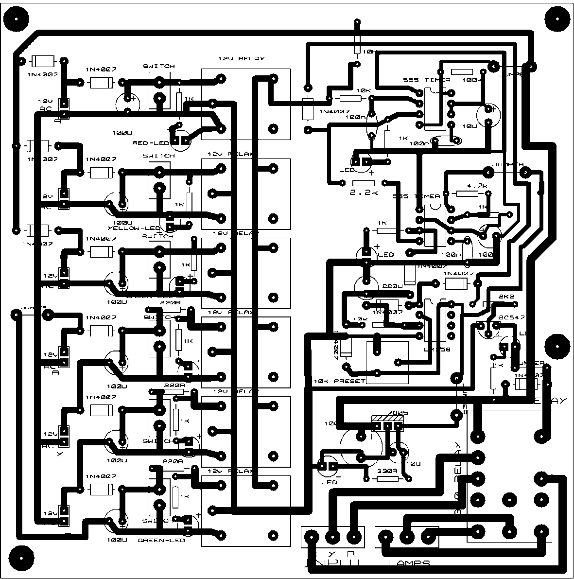Ihsan Punya Fyp July 2015 555 Bistable Schematic 34 Pcb Layout