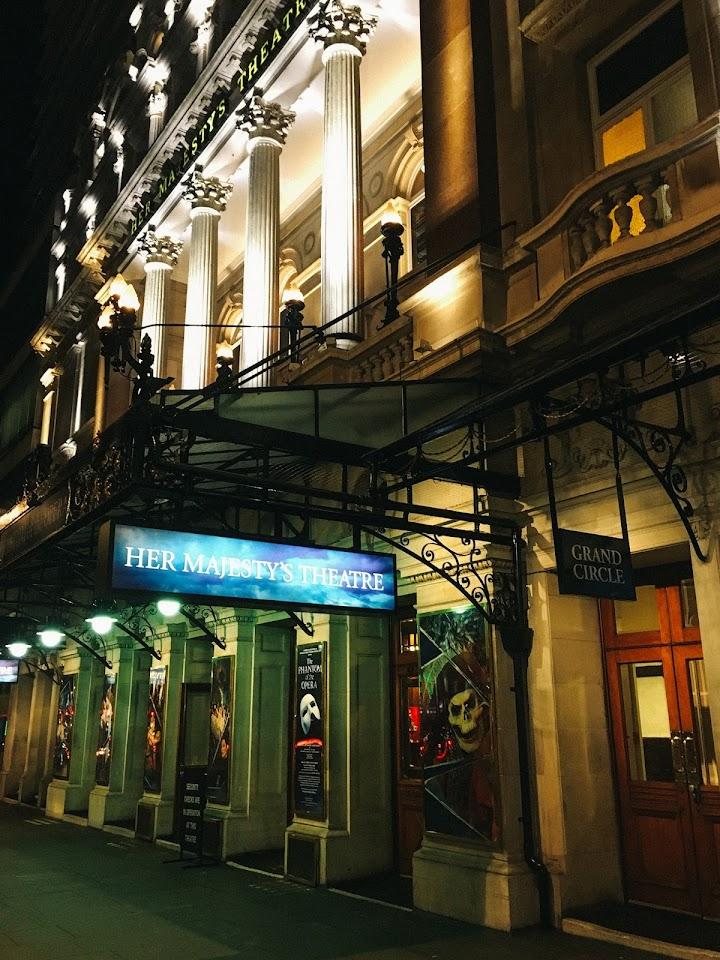 ハー・マジェスティーズ・シアター(Her Majesty's Theatre)