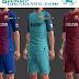 أطقم برشلونة وطقم ريال مدريد لموسم 2018  لـ Pes 2013