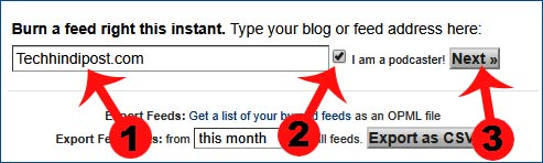 feedburner kya hai blog me kaise add kare