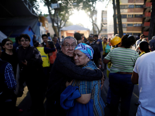 Mexico: 13 killed as helicopter crashes near earthquake epicentre