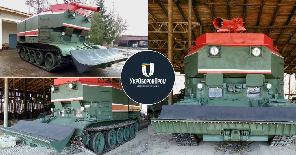 Львівський завод передав ЗСУ чотири пожежних танки