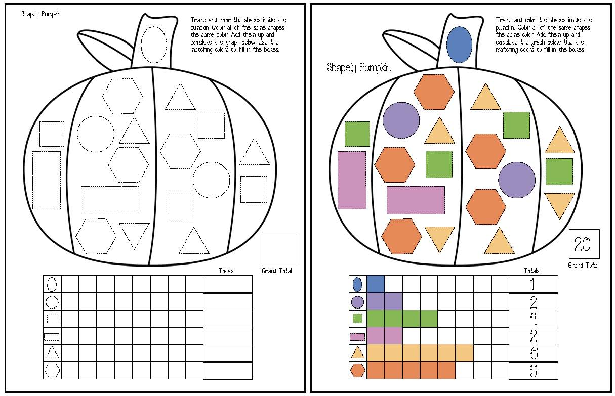 Fall Themed Graphing Activities