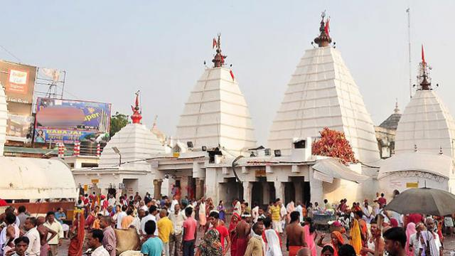 Beautiful temple on Bihar