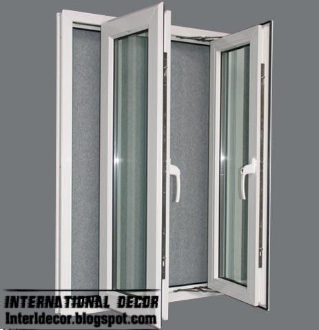 New Aluminum windows frames systems interior designs