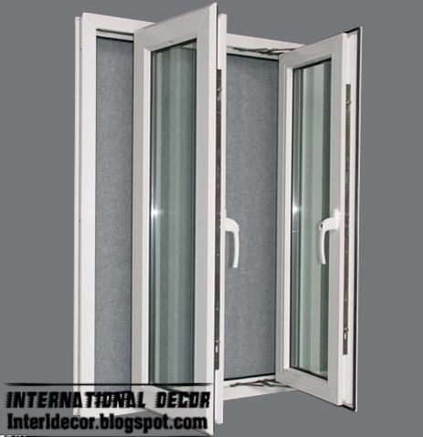 New Aluminum windows frames systems interior designs